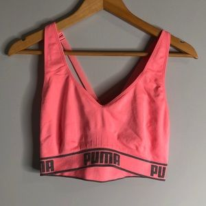 Puma Sports bra size large